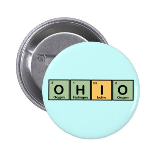 Ohio made of Elements Button