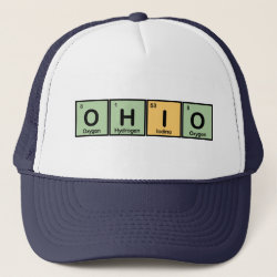 Trucker Hat with Ohio design