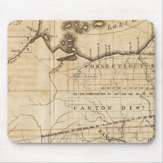 Ohio Map Mouse Pad