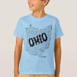 Ohio Maze Puzzle T-Shirt