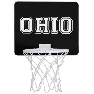 Ohio Mini Basketball Hoop
