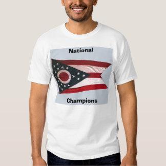 OHIO, nacional, campeones Playera