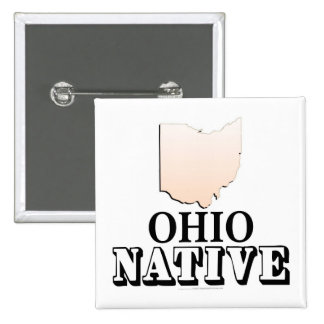 Ohio Native Pinback Buttons