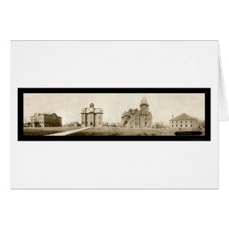 Ohio Northern University Ada Photo 1912 Card