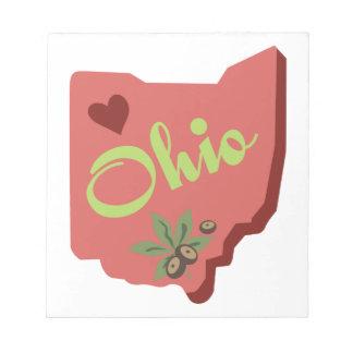 Ohio Note Pad