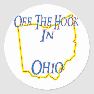 Ohio - Off The Hook Classic Round Sticker