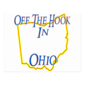 Ohio - Off The Hook Postcard