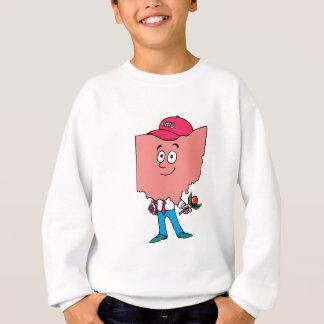 Ohio OH Farmer Vintage Travel Souvenir Sweatshirt
