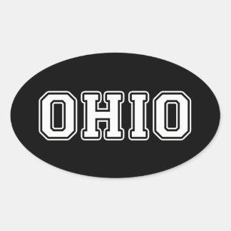 Ohio Oval Sticker