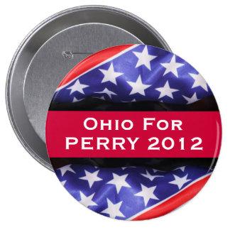 Ohio para el botón de PERRY 2012 Pins