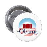 OHIO para Obama Pins