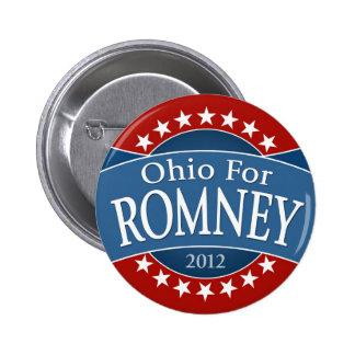 Ohio para Romney Pins