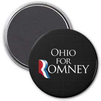 Ohio para Romney - .png Imán Redondo 7 Cm