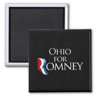 Ohio para Romney - .png Imán Cuadrado