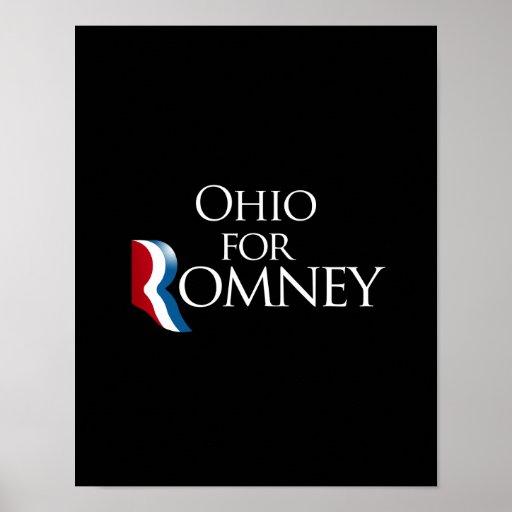 Ohio para Romney - .png Impresiones