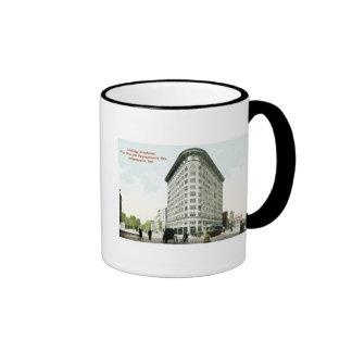Ohio & Pennsylvania Streets, Indianapolis, Indiana Ringer Mug