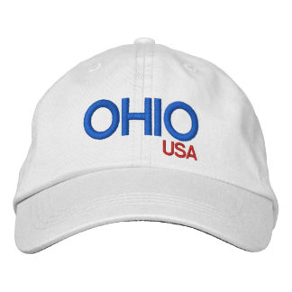 Ohio Personalized Adjustable Hat