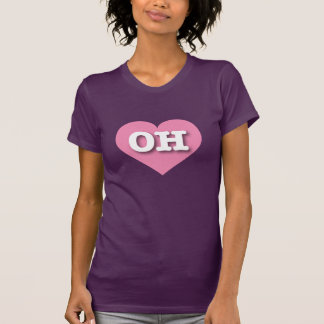 Ohio Pink Heart - Big Love T-Shirt