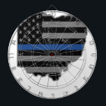 "Ohio Police &amp; Law Enforcement Thin Blue Line Dartboard<br><div class=""desc"">See our Police Gear store on Zazzle as we also have Law Enforcement shirts for women, Law Enforcement shirts for men, Police Dad gifts, Police Mom gifts, Police gifts for men, Police gifts for women, Police t shirts funny, Deputy Sheriff gifts among other Law Enforcement gifts. This Police T Shirt...</div>"