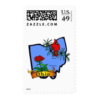 Ohio Postage Stamps