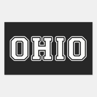Ohio Rectangular Sticker