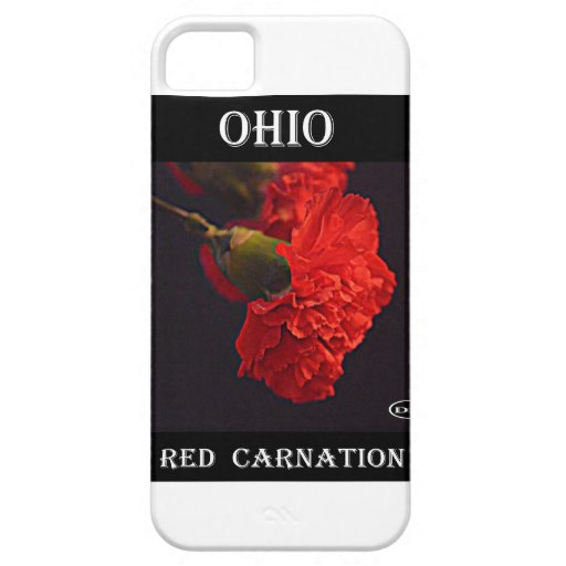 Ohio Red Carnation iPhone 5 Cover