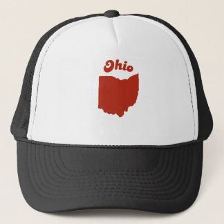 OHIO Red State Trucker Hat