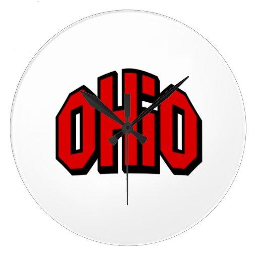 Ohio Reloj Redondo Grande