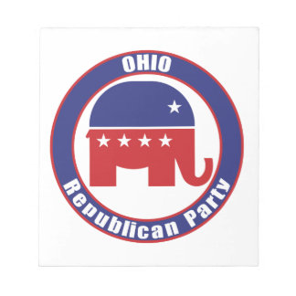 Ohio Republican Party Notepads