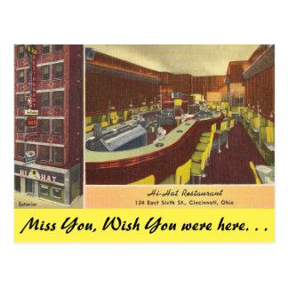 Ohio, restaurante del Hola-Gorra, Cincinnati Postal