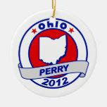 Ohio Rick Perry Ornamento De Navidad