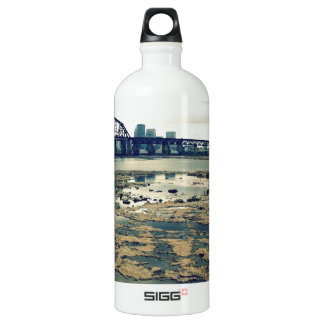 Ohio River Fossil Beds Aluminum Water Bottle