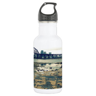 Ohio River Fossil Beds Stainless Steel Water Bottle