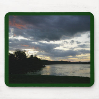 Ohio River Valley Sunrise Mouse Pad