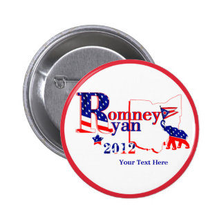 Ohio Romney and Ryan 2012 Button – Customize It!
