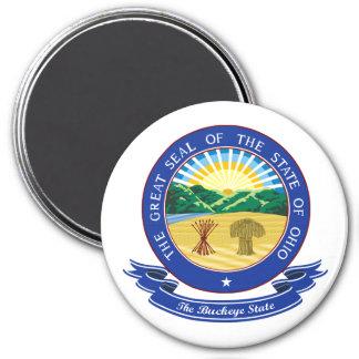 Ohio Seal 3 Inch Round Magnet