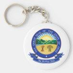 Ohio Seal Keychain