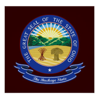Ohio Seal Print