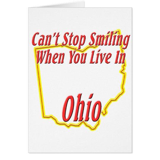 Ohio - Smiling Card