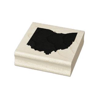 Ohio Solid Rubber Art Stamp