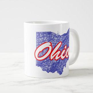 Ohio 20 Oz Large Ceramic Coffee Mug