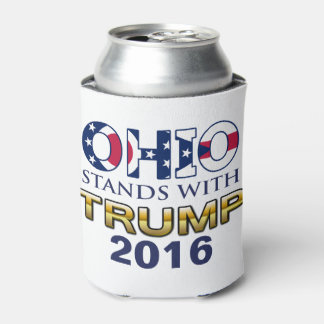 Ohio Stands With Trump 2016 can cooler