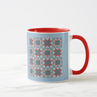 Ohio Star Sampler Quilt Pattern Mug