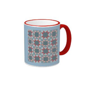Ohio Star Sampler Quilt Pattern Mug