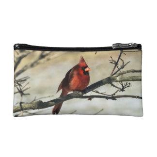Ohio State Cardinal Makeup Bag