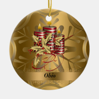 Ohio State Christmas Ornament