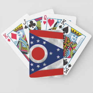 Ohio State Flag Bicycle Playing Cards
