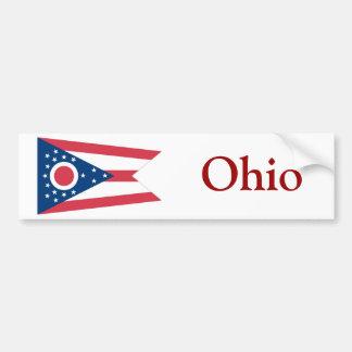 Ohio State Flag Bumper Stickers
