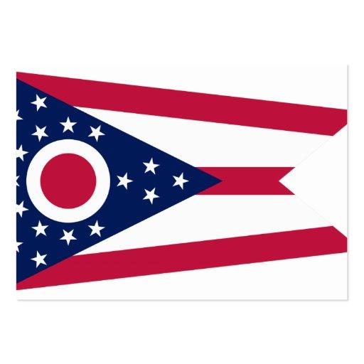 Ohio State Flag Business Card Templates
