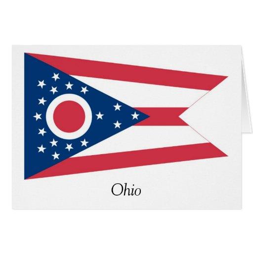 Ohio State Flag Card